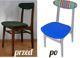 Jak niskim kosztem odnowić stare krzesło z PRL'u?