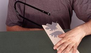 KROK I - Wycinanie kształtu w balsie