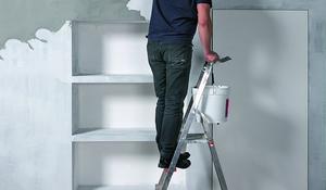 KROK VII - Nakładanie mieszanki na ścianę
