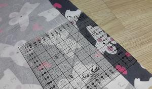 KROK II - Zaprasowywanie tkaniny
